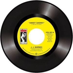 "JJ Barnes - Sweet Sherry / John Gary Williams - The Whole Damn World Is Going Crazy 45 (Outta Sight) 7"" Vinyl"
