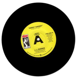 "JJ Barnes - Sweet Sherry / John Gary Williams - The Whole Damn World Is Going Crazy DEMO 45 (Outta Sight) 7"" Vinyl"