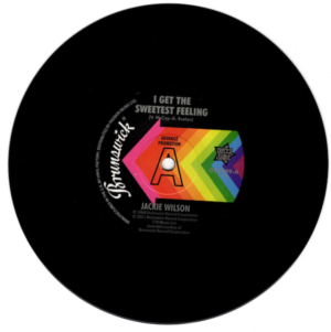 """Jackie Wilson - I Get The Sweetest Feeling / It Only Happens When I Look At You DEMO 45 (Outta Sight) 7"""" Vinyl"""