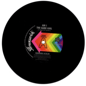 """Barbara Acklin - Am I The Same Girl / Young-Holt Unlimited - Soulful Strut DEMO 45 (Outta Sight) 7"""" Vinyl"""