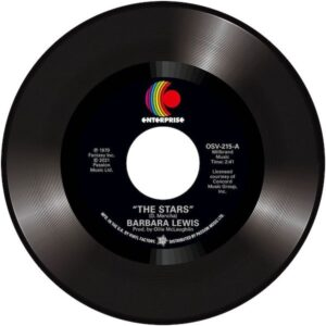 """Barbara Lewis - The Stars / How Can I Tell 45 (Outta Sight) 7"""" Vinyl"""