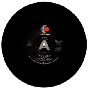 """Barbara Lewis - The Stars / How Can I Tell DEMO 45 (Outta Sight) 7"""" Vinyl"""