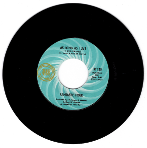 """Fantastic Four - As Long As I Live (I Live For You) / To Share Your Love 45 (Ric Tic) 7"""" Vinyl"""