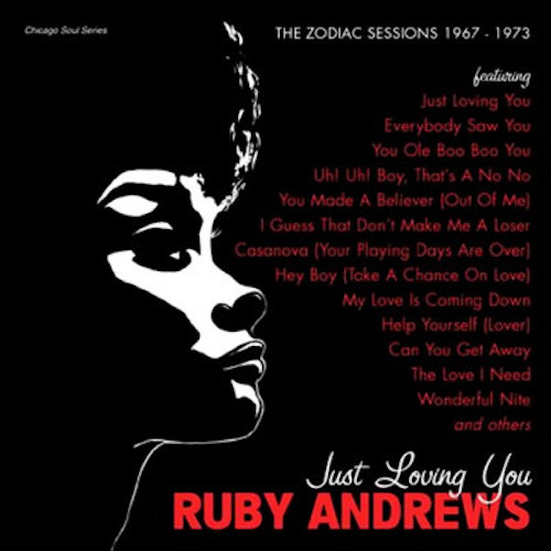 Ruby Andrews - Just Loving You CD (Grapevine)