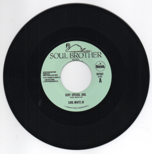 """Earl White Jr - Very Special Girl / Never Fall In Love Again 45 (Soul Brother) 7"""" Vinyl"""