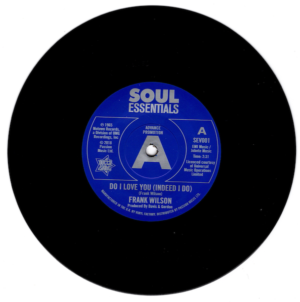 """Frank Wilson - Do I Love You (Indeed I Do) / Sweeter As The Days Go By DEMO 45 (Outta Sight) 7"""" Vinyl"""