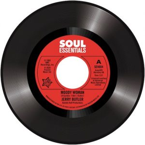 """Jerry Butler - Moody Woman / Stop Steppin' On My Dreams 45 (Outta Sight) 7"""" Vinyl"""