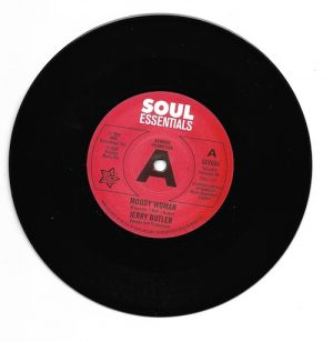 """Jerry Butler - Moody Woman / Stop Steppin' On My Dreams DEMO 45 (Outta Sight) 7"""" Vinyl"""