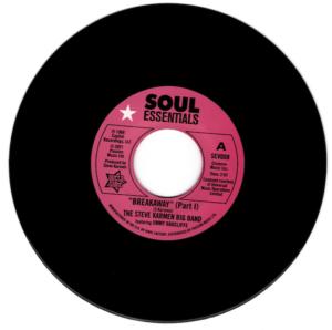 "Steve Karmen Big Band Feat Jimmy Radcliffe - Breakaway (Part 1) / Breakaway (Part 2) 45 (Outta Sight) 7"" Vinyl"