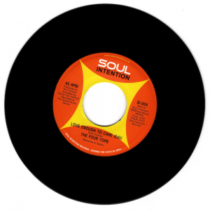 "Four Tops - Love Enough To Care (Edit) / (Long Version) 45 (Soul Intention) 7"" Vinyl"