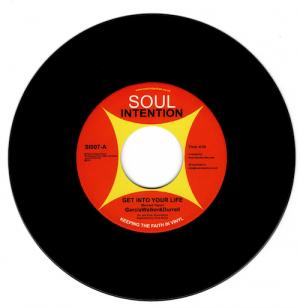"""GarciaWalker&Durrell - Get Into Your Life / (Instrumental) 45 (Soul Intention) 7"""" Vinyl"""