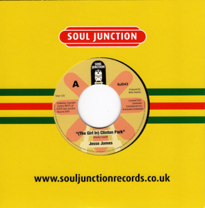 "Jesse James - (The Girl In) Clinton Park / Just As Long As We're In Love 45 (Soul Junction) 7"" Vinyl"