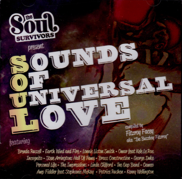 Sounds Of Universal Love - Various Artists CD (Expansion)