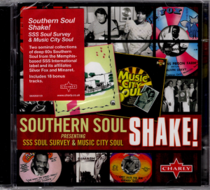 Southern Soul Shake! SSS Soul Survey & Music City Soul - Various Artists 2x CD (Charly)