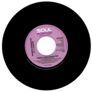 "Barbara Pennington & LJ Johnson - Twenty Four Hours A Day / LJ Johnson - Gambling On Your Love 45 (Soul Purpose) 7"" Vinyl"