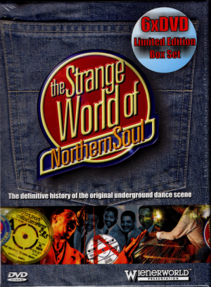 Strange World Of Northern Soul 6x DVD Set