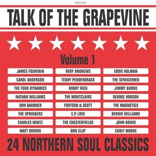 Talk Of The Grapevine Volume 1 - 24 Northern Soul Classics CD (Grapevine)