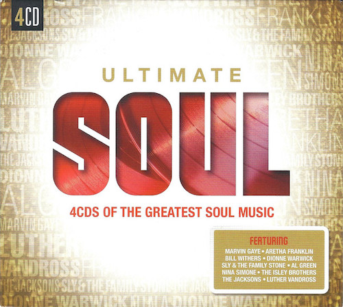 Ultimate Soul - 4CDs Of The Greatest Soul Music - Various Artists 4x CD set (Sony)