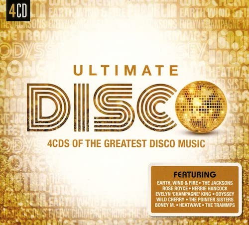Ultimate Disco - 4CDs Of The Greatest Disco Music - Various Artists 4x CD set (Sony)