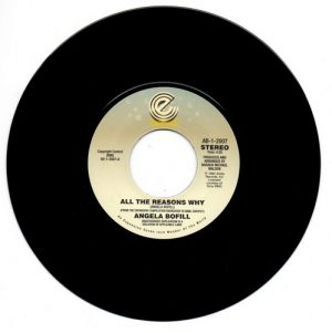 """Angela Bofill - All The Reasons Why / Love And Marriage 45 (Expansion) 7"""" Vinyl"""