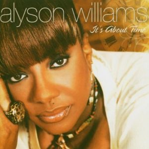 Alyson Williams - It's About Time CD