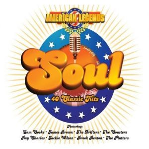 American Legends Soul 40 Classic Hits - Various Artists 2X CD Set (Greyhound)