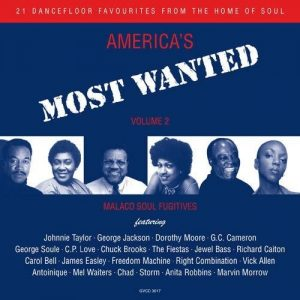 America's Most Wanted Volume 2 - Various Artists CD (Grapevine)