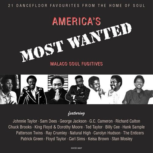 America's Most Wanted Volume 1 Malaco Soul Fugitives CD (Grapevine)