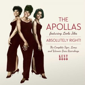 Apollas - Absolutely Right! The Complete Tiger, Loma and Warner Bros Recordings CD (Kent)