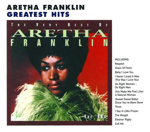 Aretha Franklin - The Very Best Of Volume 1 The 60s CD