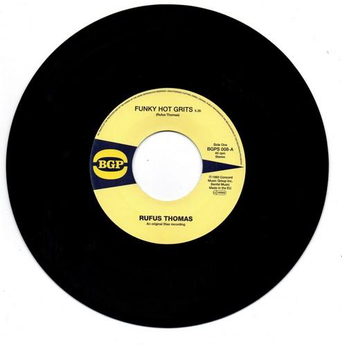 "Rufus Thomas - Funky Hot Grits / Give Me The Green Light 45 (BGP) 7"" Vinyl"