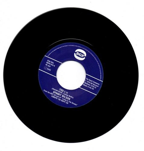 Spanky Wilson - You / Sunshine Of Your Love 45
