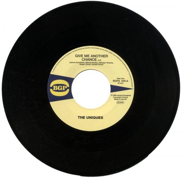 "Uniques - Give Me Another Chance / The Eternal Flames - Hi Off Life 45 (BGP) 7"" Vinyl"