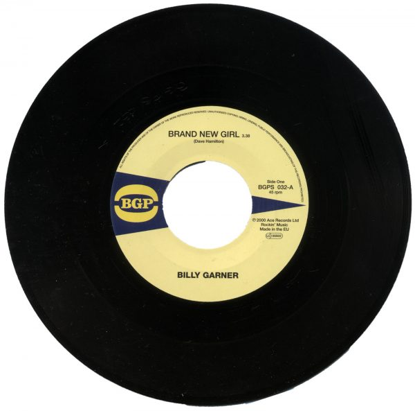 "Billy Garner - Brand New Girl / I Got Some (Part 1) 45 (BGP) 7"" Vinyl"