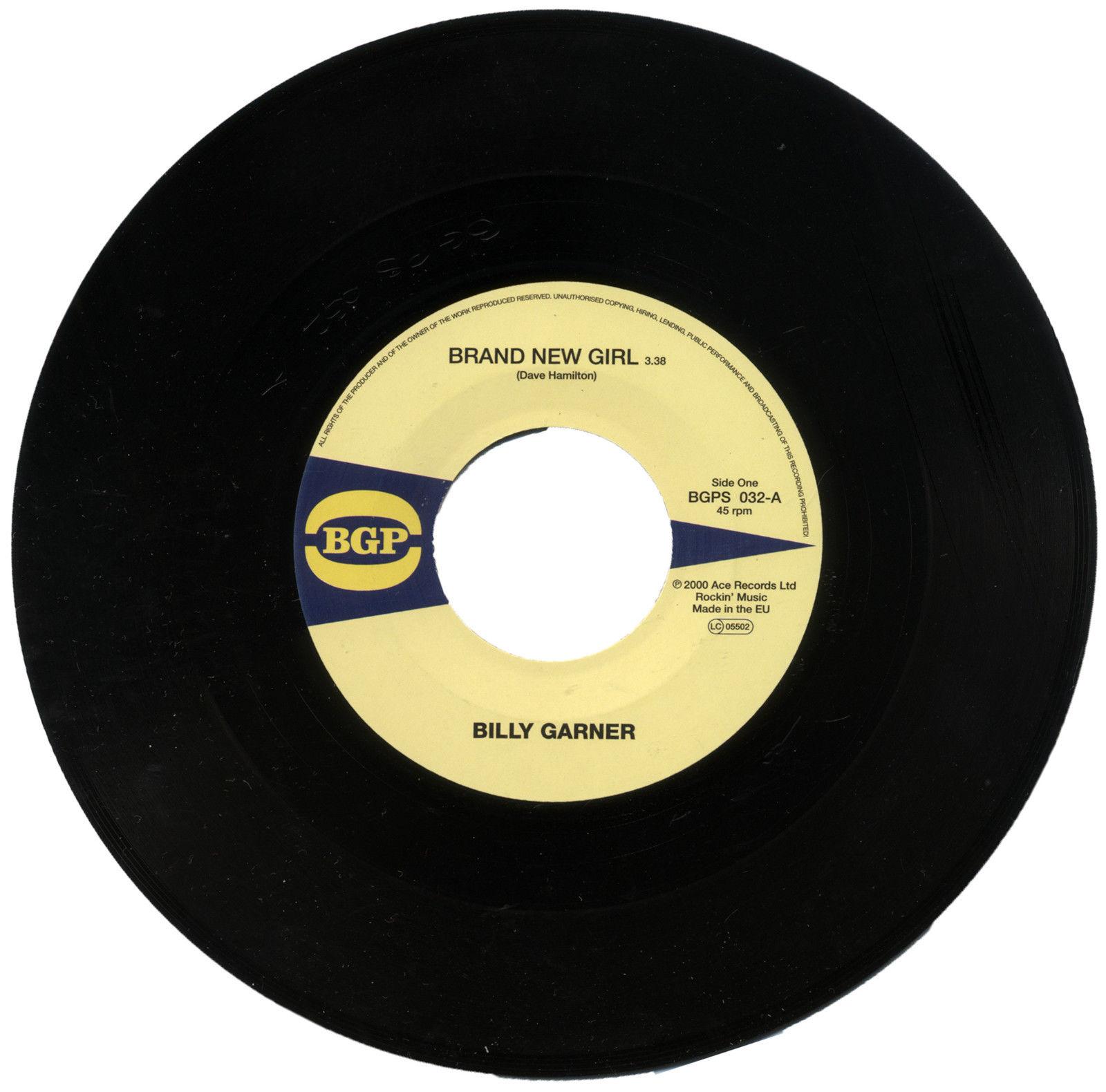 Billy Garner – Brand New Girl / I Got Some (Part 1) 45 (BGP) 7″ Vinyl
