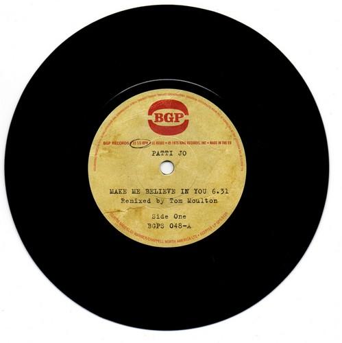"Patti Jo - Make Me Believe In You / Ain't No Love Lost 45 (BGP) 7"" Vinyl"