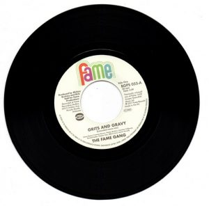 "Fame Gang - Grits And Gravy / Crime Don't Pay 45 (BGP) 7"" Vinyl"