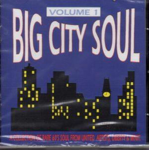 Big City Soul Volume 1 - Various Artists CD (Goldmine Soul Supply)