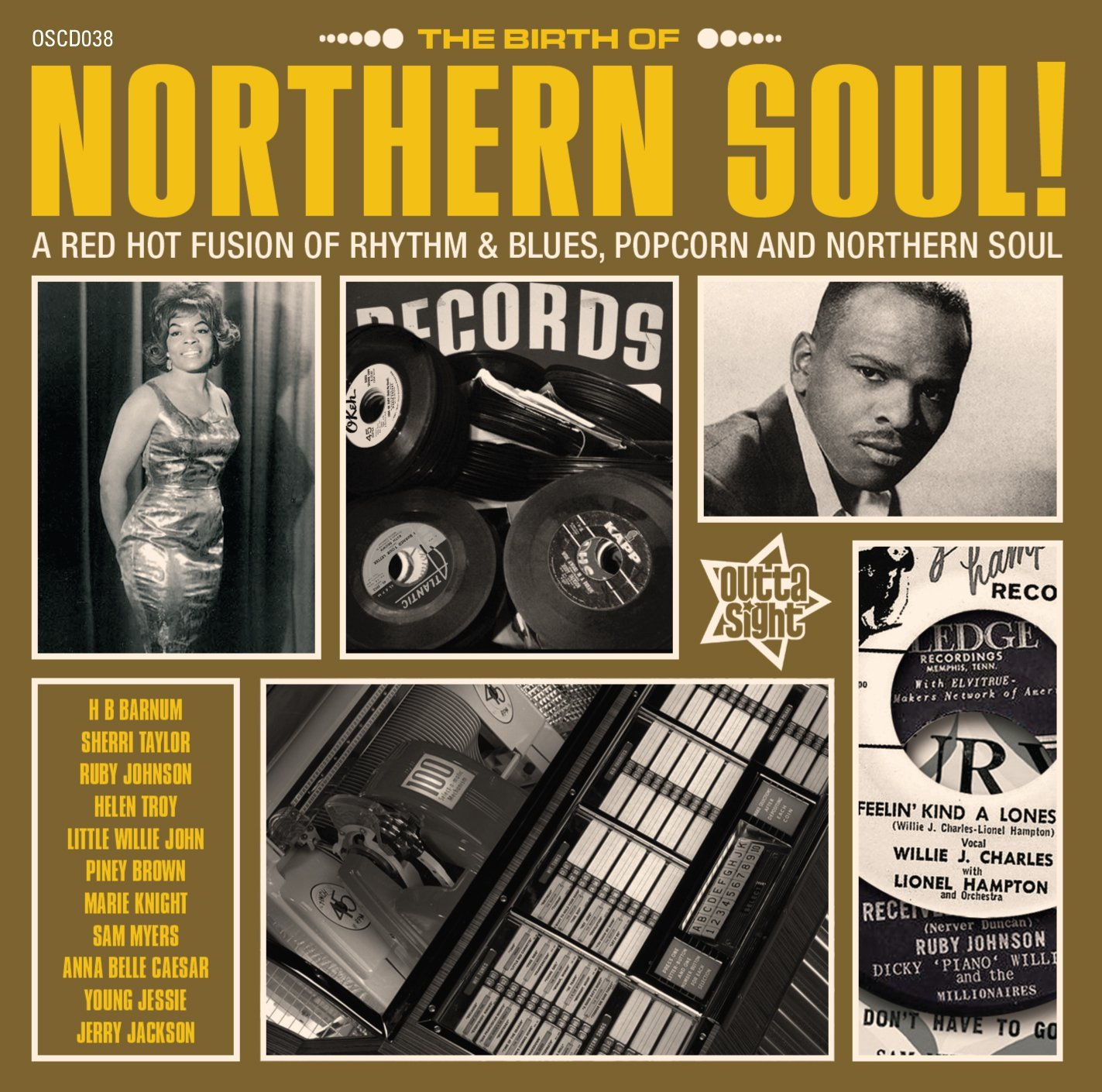 Birth Of Northern Soul – Various Artists CD (Outta Sight)