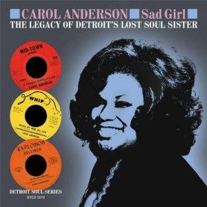 Carol Anderson - Sad Girl CD (Grapevine)