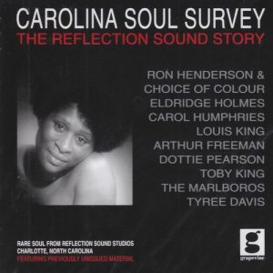 Carolina Soul Survey - The Reflection Sound Story - Various Artists CD (Grapevine)