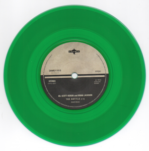 Gil Scott-Heron & Brian Jackson - The Bottle / Your Daddy Loves You (Green Vinyl) 45