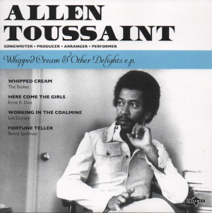 Allen Toussaint - Whipped Cream & Other Delights White Vinyl EP