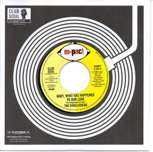 """RiRingleaders - Baby What Has Happened To Our Love / I'd Like To Win You Over 45 (Charly) 7"""" Vinyl"""
