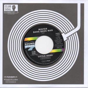 Little Hank - Mister Bang Bang Man / Try To Understand 45