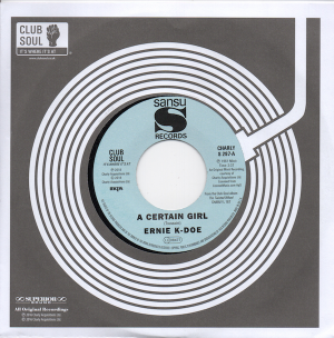 Ernie K-Doe - A Certain Girl / Here Come The Girls 45