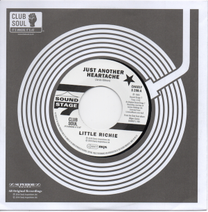 Little Richie - Just Another Heartache / One Bo-Dillion Years 45
