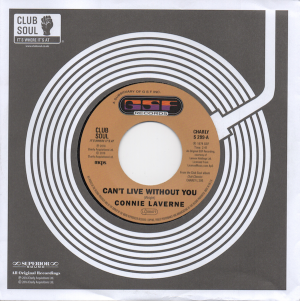 "Connie Laverne - Can't Live Without You / Anderson Brothers - I Can See Him Loving You 45 (Charly) 7"" Vinyl"