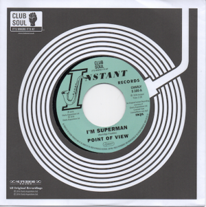 "Point Of View - I'm Superman / Cliff Holmes - I Need Ya' Baby 45 (Charly) 7"" Vinyl"
