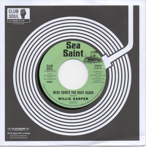 Willie Harper - Here Comes The Hurt Again / Lee Dorsey - Here Comes The Hurt Again 45